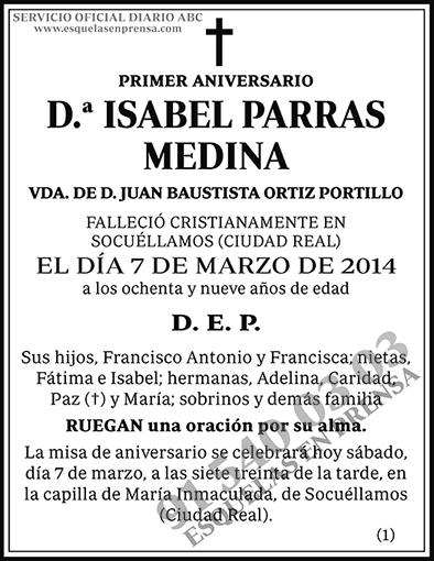 Isabel Parras Medina